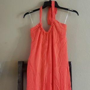 New Elan Hot Pink Maxi Sun Dress size small